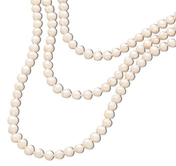 64 Inch Knotted Cultured Fw Pearl Single Strand Necklace Pearls Are Approximatley 7.5mm - 9mm