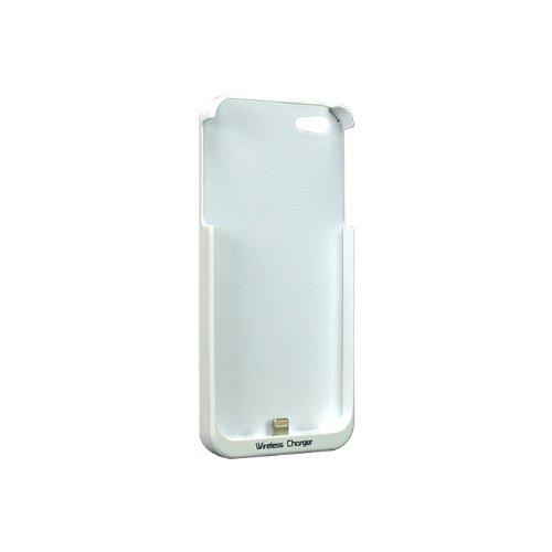 SP1004:【ワイヤレス充電】置きらく充電 レシー バー for iPhone5 ホワイト