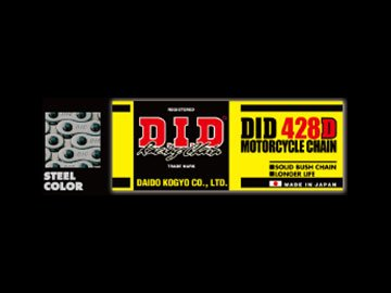 D.I.D [大同工業] 420D-098RB クリップジョイント付属 スタンダード [スチール] [品番] 420D-098RB