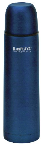 LaPlaya Thermoproducts - Thermos in acciaio INOX, Blu, 7,5 x 7,5 x 28,5 cm