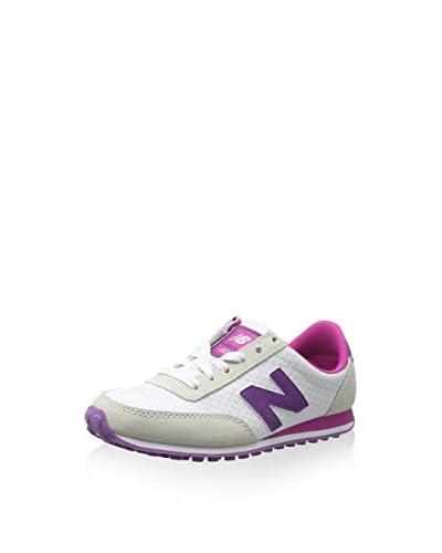 New Balance Sneaker UL410 LIFESTYLE [Bianco/Fucsia]