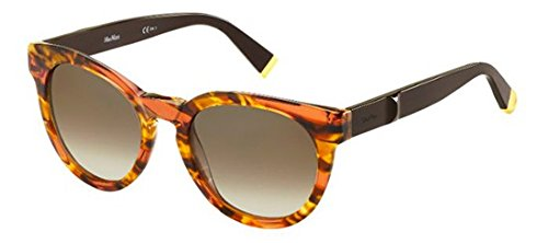 max-mara-mm-modern-ii-redondo-acetato-mujer-striped-dark-havana-brown-brown-shadedmc9-j6-52-21-140