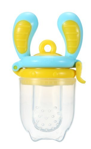 [Award winning] Kidsme Food Feeder (Small size),  Blue/Yellow image