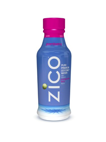 ZICO Pure Premium Coconut Water, Pomberry, 14oz