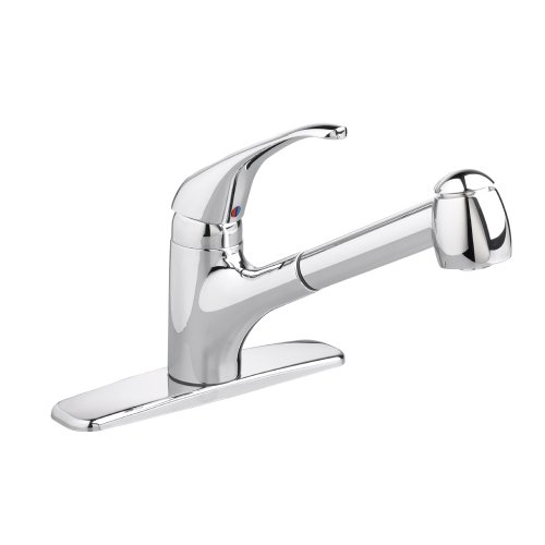 American Standard 4205.104.075 Reliant Pull-out Kitchen Combination Faucet, Stainless Steel