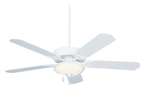 Emerson CF652WW Summer Night Indoor/Outdoor Ceiling Fan, 52-Inch Blade Span, Appliance White Finish and All-Weather Appliance White Blades