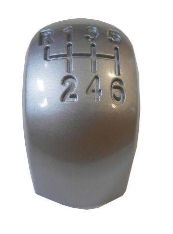 SCHALTKNOPF SCHALTKNAUF KAPPE EMBLEM + LEDER ÜBERZUG REPARATUR SET OPEL VECTRA C SIGNUM (02-05) 6 GANG (4)