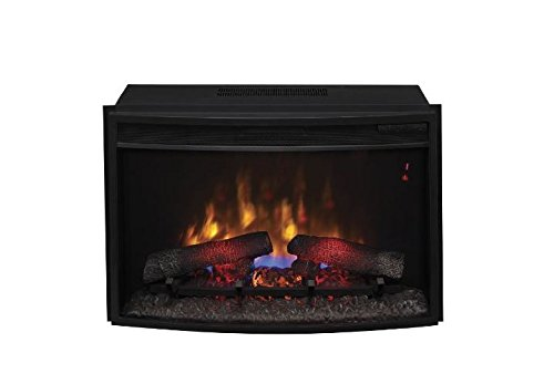 Classic Flame 25EF031GRP Curved SpectraFire Plus Insert with Safer Plug, 25-Inch