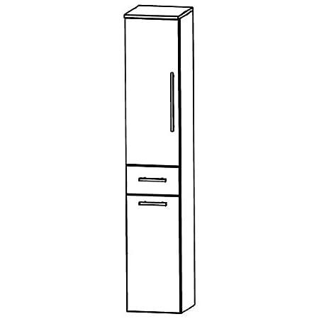 Kera Puris Trends (HNA053A7WL / R Tall Cupboard Bathroom Cupboard 30 CM