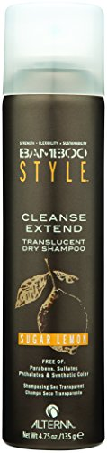Alterna Bamboo Style Cleanse Extend Translucent Dry Shampoo Sugar Lemon, 4.75 oz