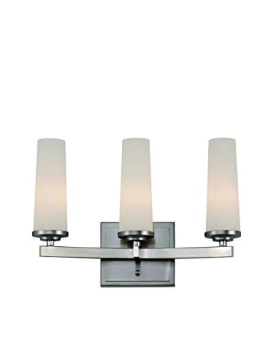 Bel Air Lighting Light Saber 3-Light Vanity, Satin Nickel As You See