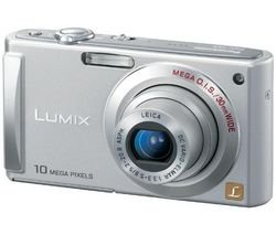 Panasonic DMCFS5 Digital Camera - Silver (10.1MP, 4x Optical Zoom) 2.5 inch LCD