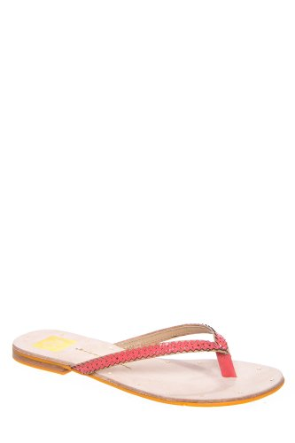 Dolce Vita Orie Flip Flop Sandal - Mango Patent Leather