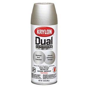 krylon 8848 dual metallic paint spray paints. Black Bedroom Furniture Sets. Home Design Ideas
