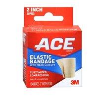 Ace Elastic Bandage with Hook Closure, Model 207602, 2 inches, 1 ea     ACE