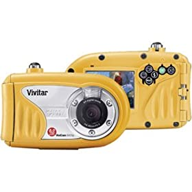 Vivitar ViviCam 8400 8.1 MP 2.4-Inch TFT LCD Screen Underwater Digital Camera