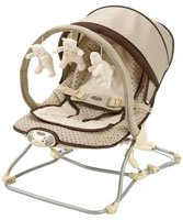 Graco Travel Bouncer Butterscotch Baby