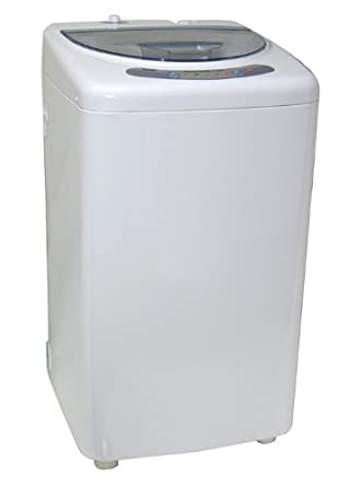 haier america 1 cu ft portable washing machine with stainless tub electronic. Black Bedroom Furniture Sets. Home Design Ideas