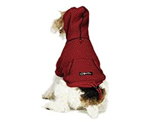 Fashion Pet Thermal Dog Hoodie - X-large - Red