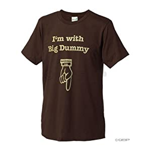 Surly Big Dummy T-Shirt: Brown with Gold; SM