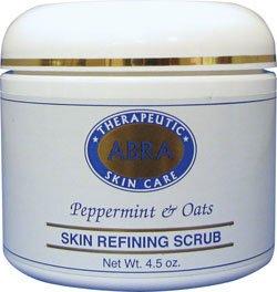 abra-therapeutics-skin-refining-scrub-pfefferminze-und-hafer-45-unzen-126-g