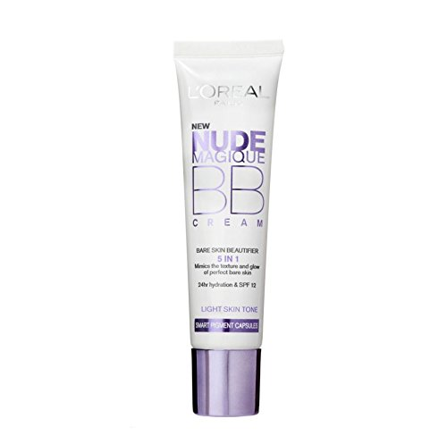 L'Oréal Paris Nude Magique, BB Cream, tinta chiara, 30 ml