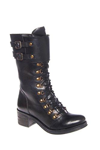 Fenner Mid Heel Combat Boot