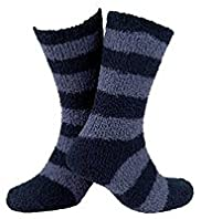 Striped Cosy Bed Socks