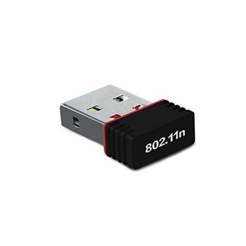 Advent Basics™ Mini Wi-Fi Receiver 300Mbps, 2.4GHz, 802.11b/g/n USB 2.0 Wireless Wi-Fi Network Adapter