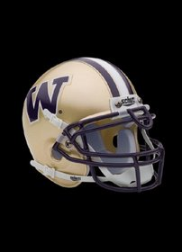 NCAA Washington Collectible Mini Football Helmet at Amazon.com