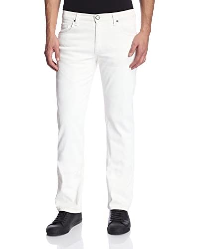 Versace Coated Straight Leg Jeans Men's Coated Straight Leg Jeans