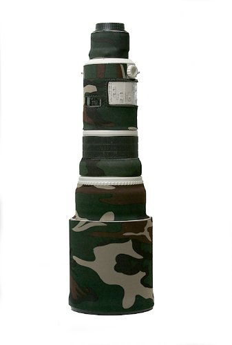LensCoat LC500FG Canon 500 Lens Cover (Forest Green Camo)