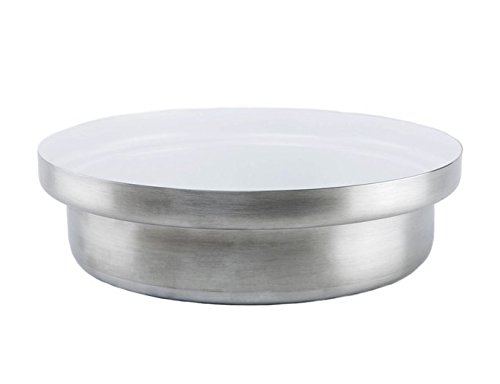 KnIndustrie Whitepot - Low Casserole Ø11.8 Steel - White