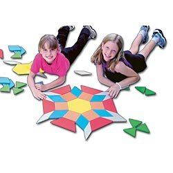 Cheap Learning Resources Pattern Block, Giant Foam Floor, Set/49 (B005HYO18G)