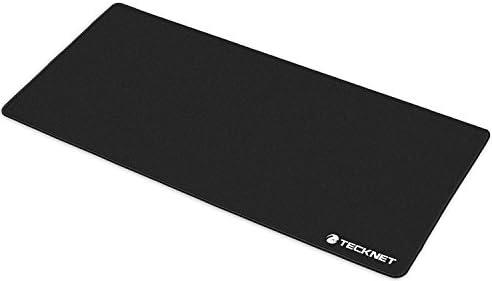 TeckNet 900x450x3MMゲーミングマウスパッド- ノンスリップゴムベース - 特殊テクスチャ表面