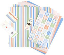Making Memories MM Kids Collection 12x12 Page Kit-Max