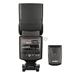 Godox TT560II GN38 Built-in Wireless Receiver Camera Flash & Transmitter for Canon EOS (700D 650D 600D 550D 500D 450D 1100D 100D 1200D 1300D)
