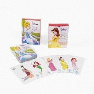 Disney Princess Set of 2 Card Games Go Fish & Old Maid