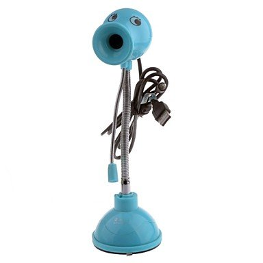 Zcl Rayants Ly-720 10.0Mp Hd Webcam With Night Vision Light / Micphone , Blue