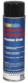 Paintable Rubberized Undercoating, 18 oz.-by-FINISH PRO from FINISH PRO