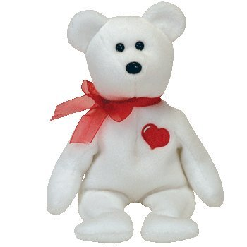 Ty Beanie Babies Cassanova - White Bear Beanie Baby