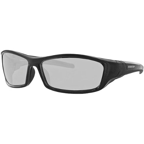 Bobster Hooligan Adult Functional Sunglasses/Eyewear - Black/Photochromic / One Size Fits All