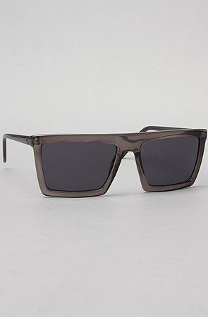 5513d79f42c Cheap Monday The Automatism Sunglasses in Industrial Gray