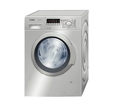 Bosch WAK24 268IN Fully-automatic Front-loading Washing Machine (7 Kg, Silver)