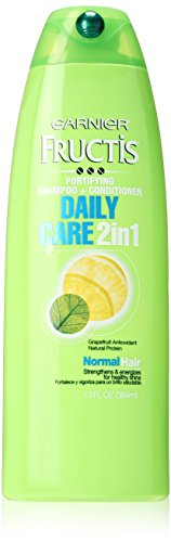 Garnier Fructis Daily Care 2-in-1 Shampoo and Conditioner, 13 Fluid Ounce