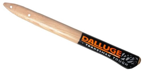 "Dalluge Tools 3800 17"" Straight Hickory Replacement Hammer Handle For 7180 & 7182 Titanium Hammers (03800)"