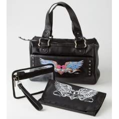 Diaper Tote Rock N' Mom's Leather - Great For The Posh Mom!