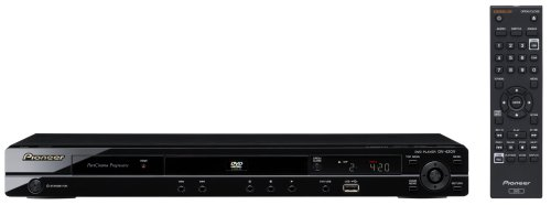 Pioneer 高精細画質DVDプレーヤー DV-420V-K(光沢黒) Multi-Format DVD HDMI対応【海外仕様】