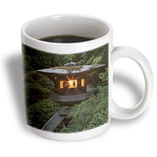 Danita Delimont - Japanese Gardens - Lantern, Portland Japanese Garden, Oregon, Usa - Us38 Wsu0163 - William Sutton - 11Oz Mug (Mug_146373_1)