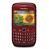 Unlocked Blackberry Gemini Curve 8520 in Red